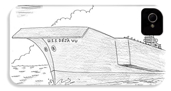 U.s.s. Deja Vu IPhone 4 / 4s Case by Mick Stevens
