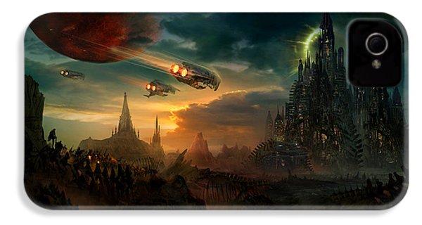 Utherworlds Sosheskaz Falls IPhone 4 / 4s Case by Philip Straub