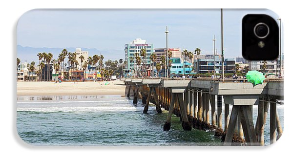 Venice Beach From The Pier IPhone 4 / 4s Case by Ana V Ramirez