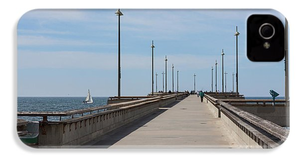 Venice Beach Pier IPhone 4 / 4s Case by Ana V Ramirez