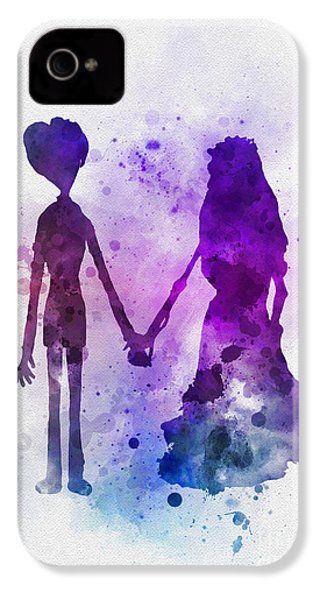 Victor And Emily IPhone 4 / 4s Case by Rebecca Jenkins