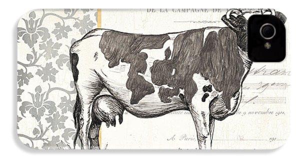 Vintage Farm 4 IPhone 4 / 4s Case by Debbie DeWitt