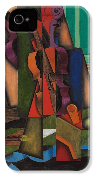 Violin And Guitar IPhone 4 / 4s Case by Juan Gris