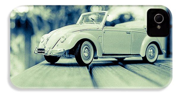 Vw Beetle Convertible IPhone 4 / 4s Case by Jon Woodhams