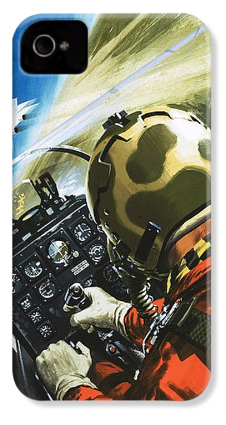War In The Air IPhone 4 / 4s Case by Wilf Hardy