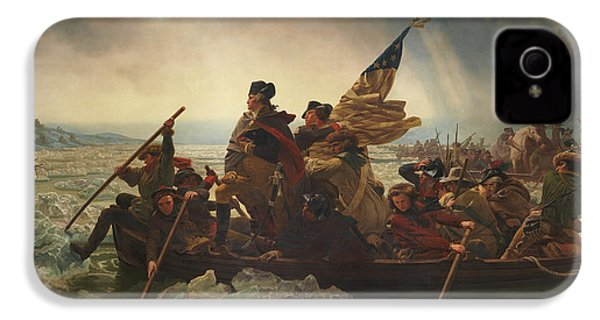 Washington Crossing The Delaware IPhone 4 / 4s Case by War Is Hell Store