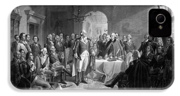 Washington Meeting His Generals IPhone 4 / 4s Case by War Is Hell Store
