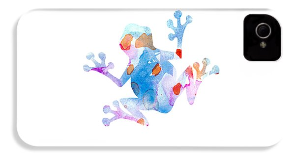 Watercolor Frog IPhone 4 / 4s Case by Nursery Art