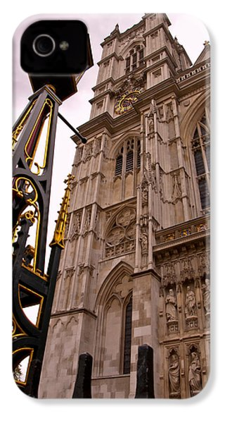 Westminster Abbey London England IPhone 4 / 4s Case by Jon Berghoff