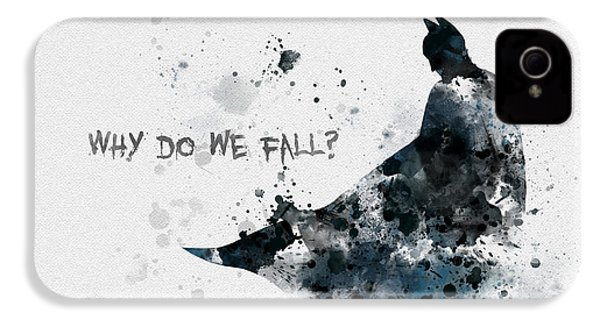 Why Do We Fall? IPhone 4 / 4s Case by Rebecca Jenkins