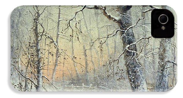 Winter Breakfast IPhone 4 / 4s Case by Joseph Farquharson