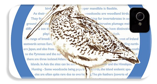Woodcock IPhone 4 / 4s Case by Greg Joens