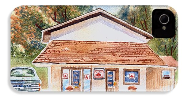 Woodcock Insurance In Watercolor  W406 IPhone 4 / 4s Case by Kip DeVore