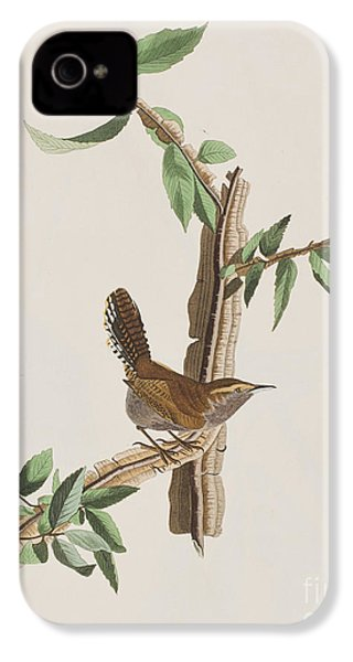 Wren IPhone 4 / 4s Case by John James Audubon