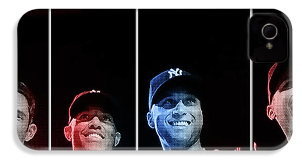 Yankee Core Four By Gbs IPhone 4 / 4s Case by Anibal Diaz