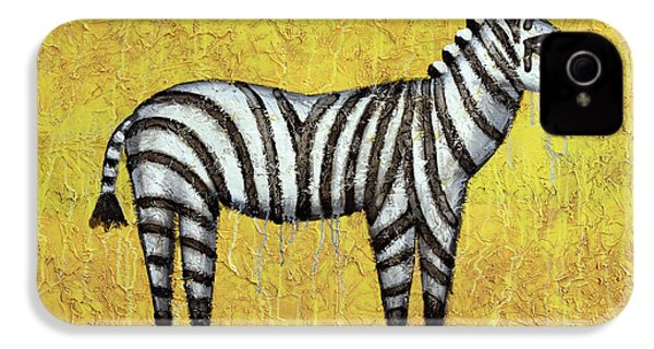 Zebra IPhone 4 / 4s Case by Kelly Jade King
