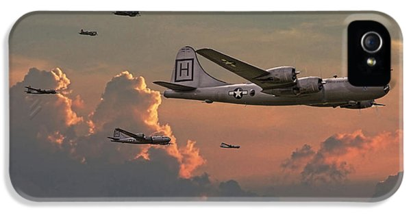 Usaf iPhone 5 Cases -  B29 - Korea iPhone 5 Case by Pat Speirs