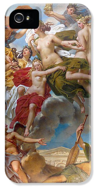 Conducting iPhone 5 Cases -  Nymphs of Parthenope iPhone 5 Case by Charles Meynier