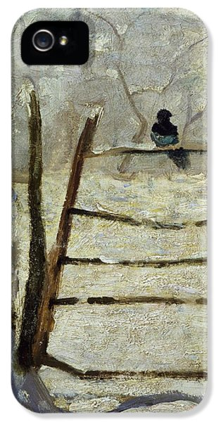 The Magpie IPhone 5 / 5s Case by Claude Monet