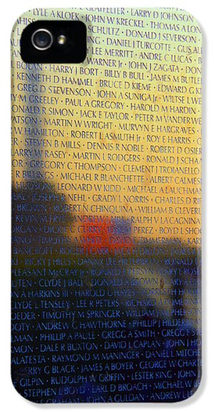 Vietnam Veterans Memorial IPhone 5 / 5s Case by Mitch Cat