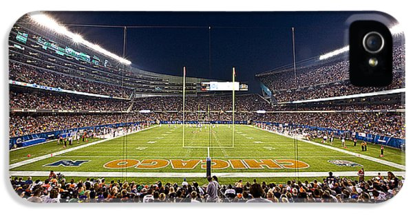 0588 Soldier Field Chicago IPhone 5 / 5s Case by Steve Sturgill