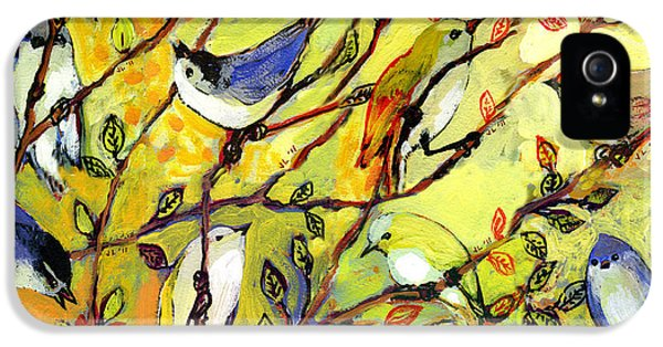 16 Birds IPhone 5 / 5s Case by Jennifer Lommers