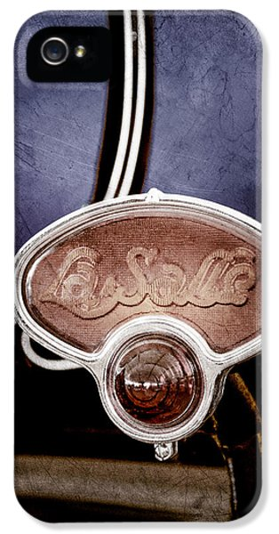1929 La Salle Brake Light Emblem IPhone 5 / 5s Case by Jill Reger
