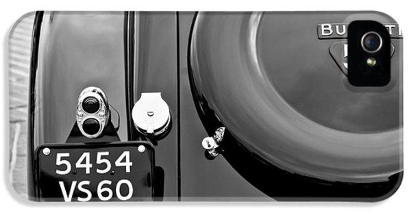 Bugatti Classic Car iPhone 5 Cases - 1937 Bugatti Type 57C Ventoux iPhone 5 Case by Jill Reger
