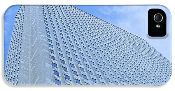 One Prudential Plaza Building iPhone 5 Cases - A Wealth of Windows iPhone 5 Case by Ann Horn