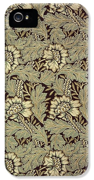 Cell iPhone 5 Cases - Anemone design iPhone 5 Case by William Morris