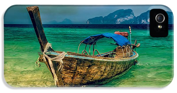 Hdr iPhone 5 Cases - Asian Longboat iPhone 5 Case by Adrian Evans