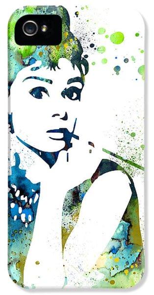 Audrey Hepburn  IPhone 5 / 5s Case by Luke and Slavi