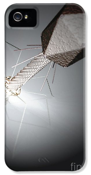 Infection iPhone 5 Cases - Bacteriophage iPhone 5 Case by Science Picture Co