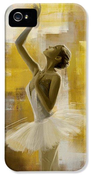Ballerina iPhone 5 Cases - Ballerina  iPhone 5 Case by Corporate Art Task Force