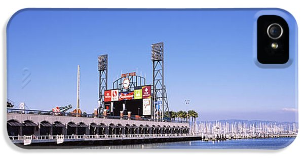 Build iPhone 5 Cases - Baseball Park At The Waterfront, At&t iPhone 5 Case by Panoramic Images
