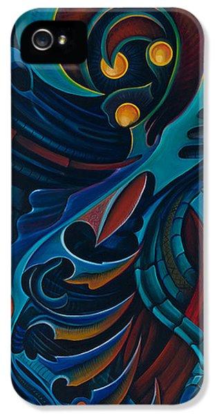 Bio-mechanical iPhone 5 Cases - Bio Mech I  iPhone 5 Case by Steve  Stilo  Gleason