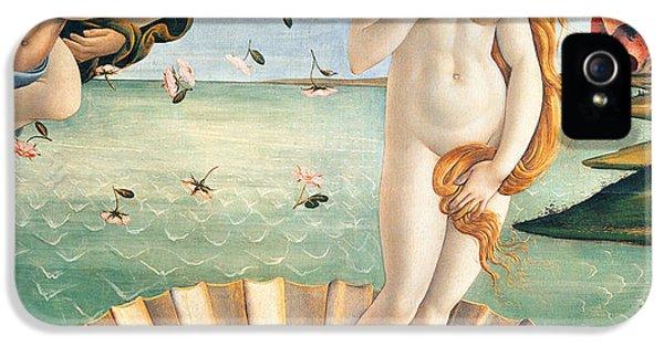 Birth Of Venus IPhone 5 / 5s Case by Sandro Botticelli