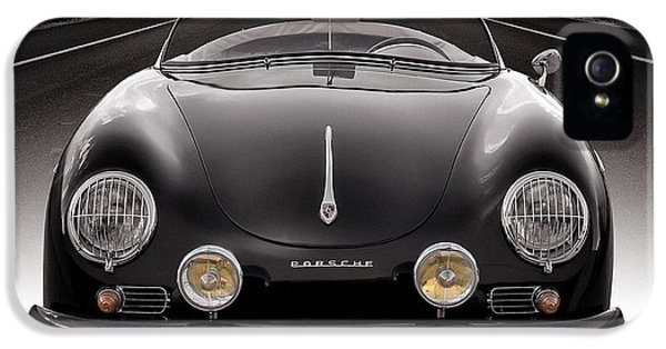 Cars iPhone 5 Cases - Black Speedster iPhone 5 Case by Douglas Pittman
