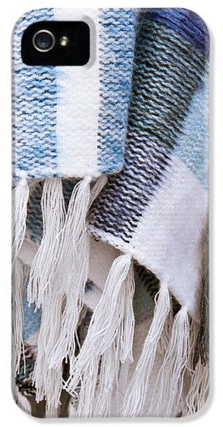 Fibre iPhone 5 Cases - Blanket iPhone 5 Case by Tom Gowanlock
