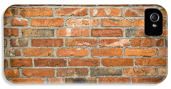 Brick iPhone 5 Cases - Brick Wall iPhone 5 Case by Frank Tschakert
