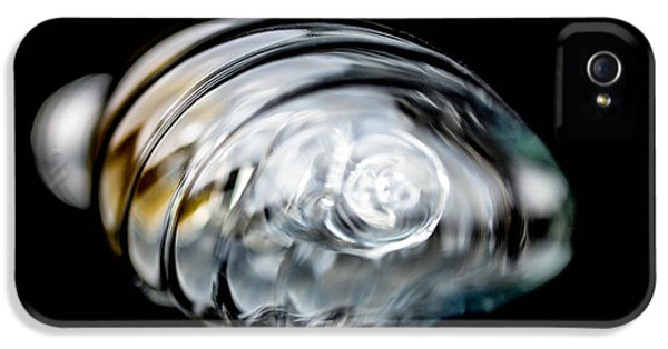 Filament (lightbulb) iPhone 5 Cases - Bulb in close-up iPhone 5 Case by Toppart Sweden