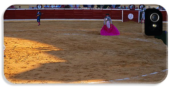Andalusia iPhone 5 Cases - Bullfighter Ready For Bullfight iPhone 5 Case by Panoramic Images