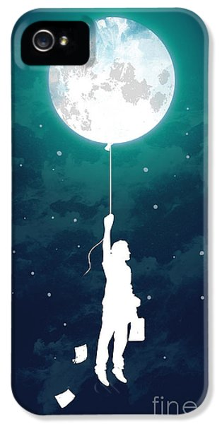 Balloon iPhone 5 Cases - Burn the midnight oil iPhone 5 Case by Budi Kwan