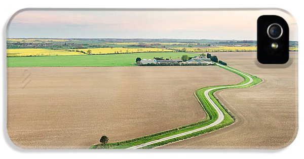 Agricultural iPhone 5 Cases - Cambridgeshire  iPhone 5 Case by Tom Gowanlock