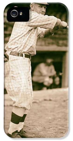 Casey iPhone 5 Cases - Casey Stengel 1915 iPhone 5 Case by Mountain Dreams