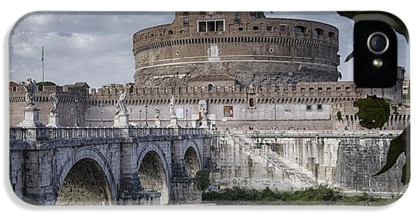 Castel Sant' Angelo IPhone 5 / 5s Case by Joan Carroll