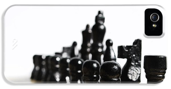Strategy iPhone 5 Cases - Chess iPhone 5 Case by Jelena Jovanovic