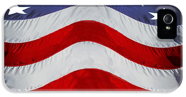 Fourth Of July iPhone 5 Cases - Close-up Of An American Flag iPhone 5 Case by Panoramic Images
