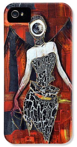 Dark Angel Eye IPhone 5 / 5s Case by Jakub DK