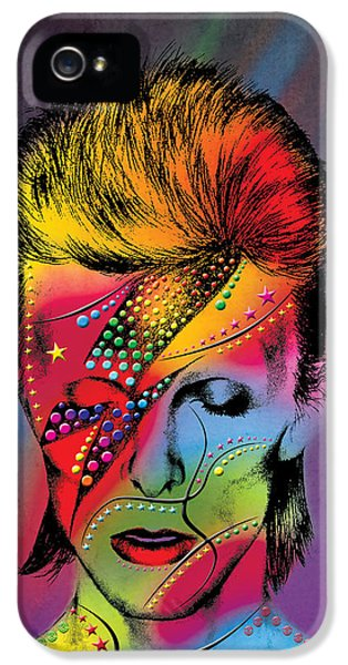 David Bowie IPhone 5 / 5s Case by Mark Ashkenazi